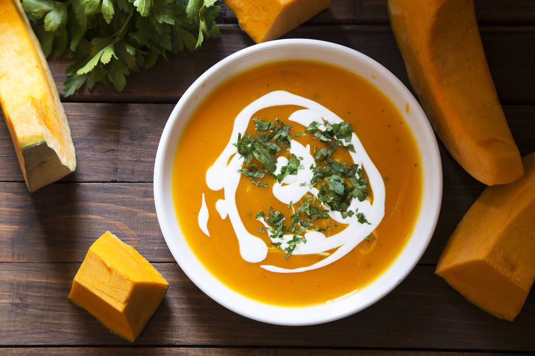 Pumpkin soup. Thinkstock