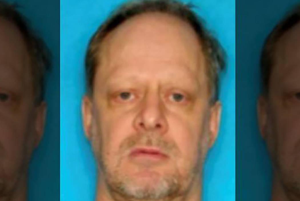 Las Vegas gunman Stephen Paddock, driver license photo.