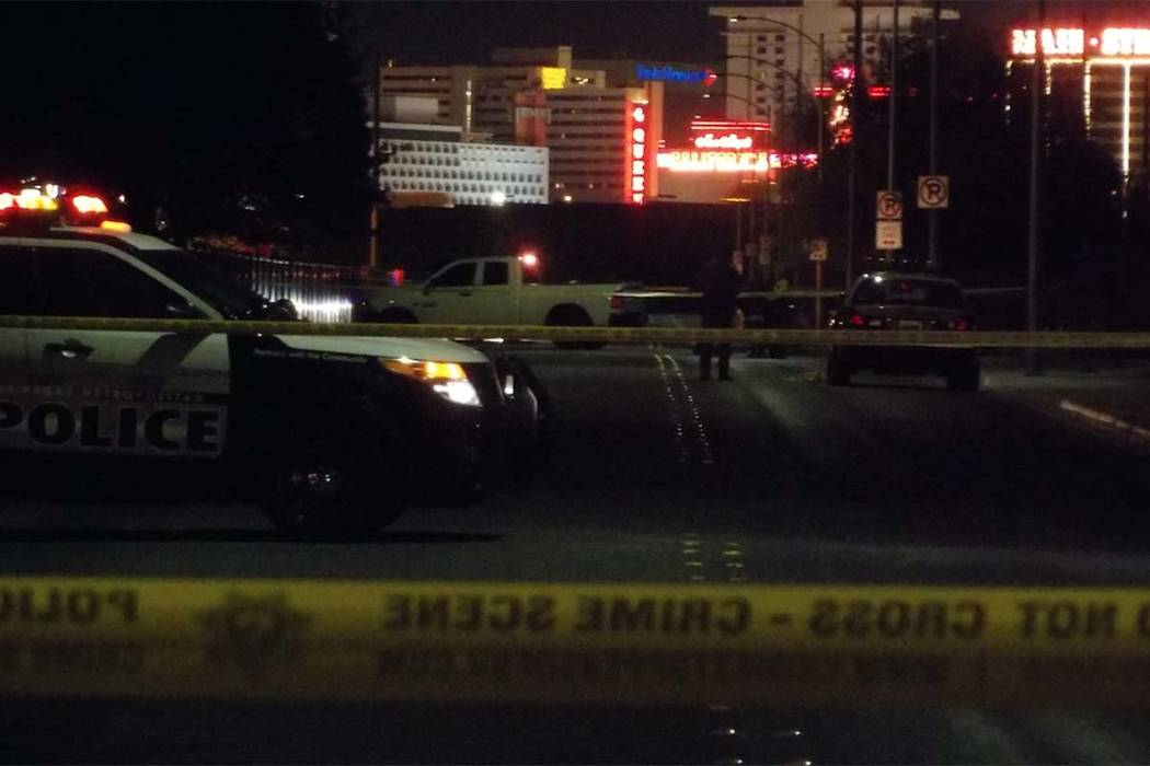 The Clark County coroner has identified the man who died last week after he was found laying in the street in downtown Las Vegas. (Max Michor/Las Vegas Review-Journal)
