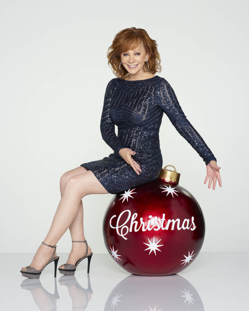Reba McEntire hosts CMA Country Christmas, Monday, Nov. 27 at 8/7c on the ABC Television Network. (ABC/Bob D'Amico)