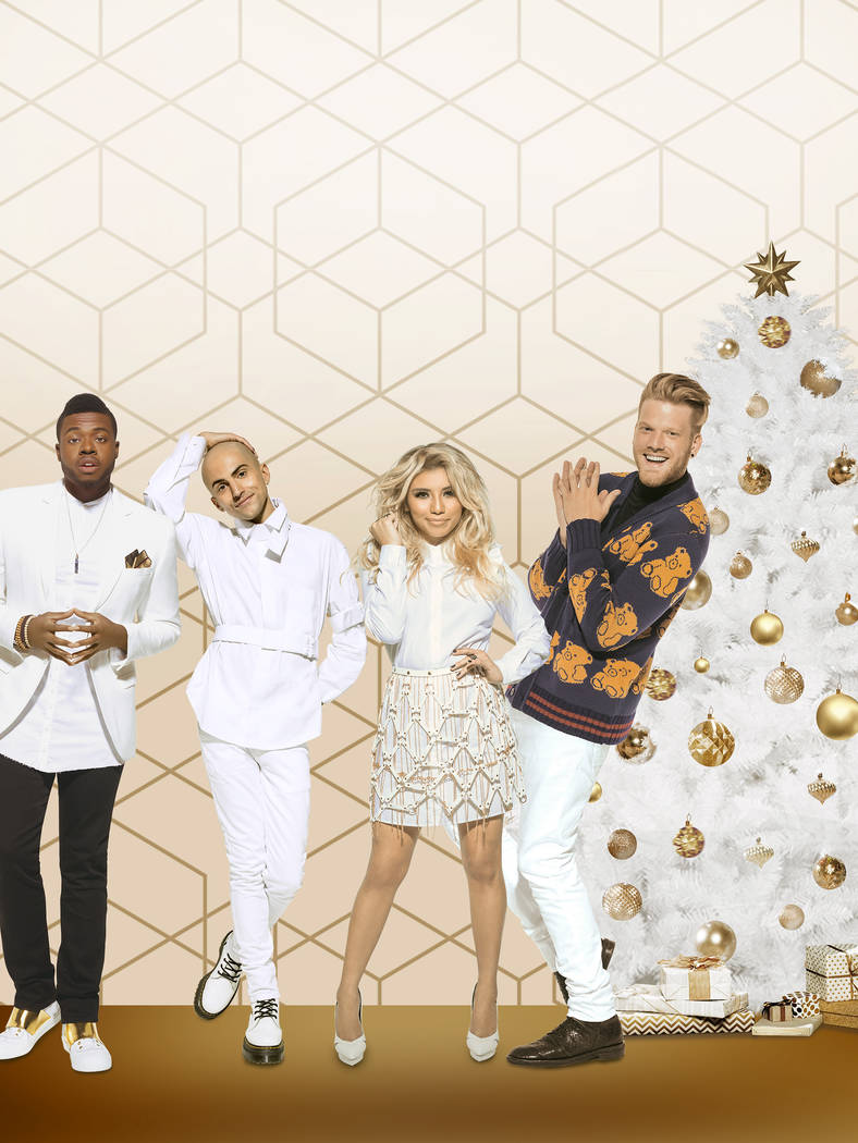 """A Very Pentatonix Christmas"" Key Art. NBCUniversal"