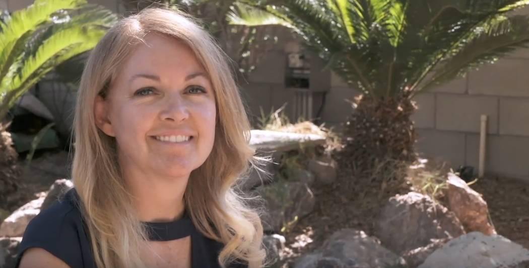 Tammy Richardson of Las Vegas is a finalist for NASCAR's Betty Jane France Humanitarian Award. (NASCAR)