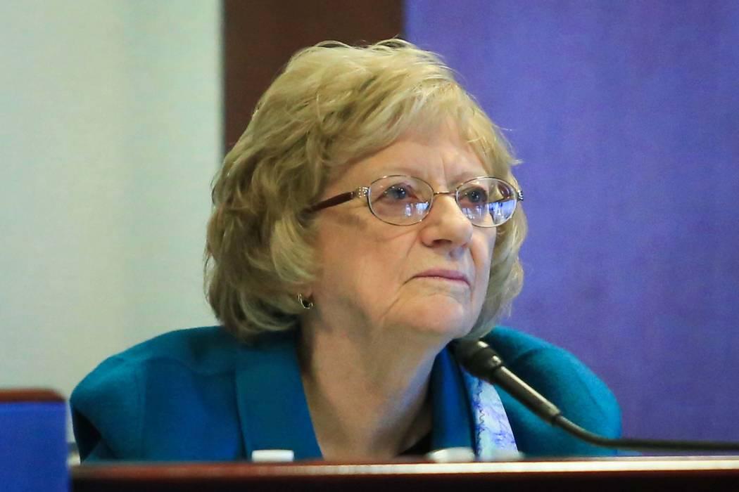 Nevada state Sen. Joyce Woodhouse (Brett Le Blanc/Las Vegas Review-Journal) @bleblancphoto