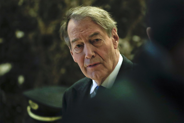 TV News anchor Charlie Rose (Carolyn Kaster/AP)