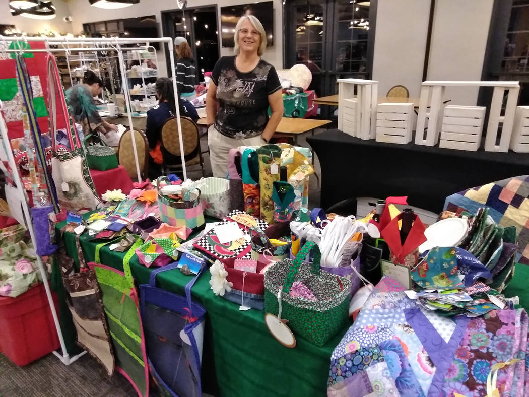 Selwyn Harris/Pahrump Valley Times  There was no shortage of one-of-a-kind items on display just in time for purchasers looking for unique gift items for the holiday season.