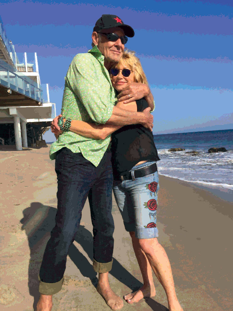 Actress Suzanne Somers and Alan Hamel have been married for 37 years ago. She says they have never spent a night apart. (Courtesy)
