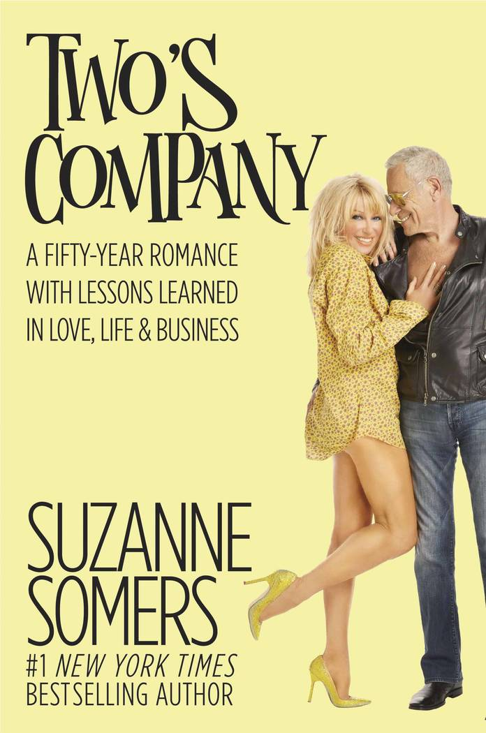 Actress Suzanne Somers has written a book about her marriage with Alan Hamel. The two have been married for 37 years.  (Courtesy)
