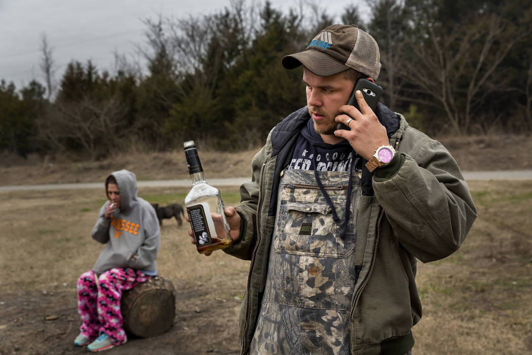 """Veronica, an addict, and her son Teddy appear in HBO's """"Meth Storm."""" photo: ©501 Film LLC/Brent Renaud/courtesy of HBO"""