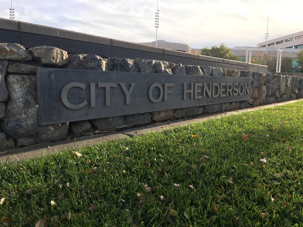 Henderson was listed as the fifth-safest city in Nevada, with a rate of 1.68 violent crimes per 1,000 citizens. (Diego Mendoza-Moyers/View) @dmendozamoyers