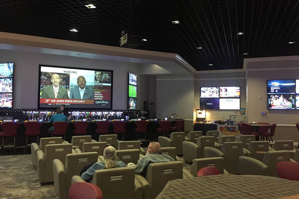 A sports book operated by William Hill. Mick Akers/Pahrump Valley Times