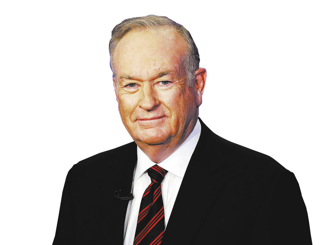 """FILE - In this Oct. 1, 2015 file photo, Bill O'Reilly of the Fox News Channel program """"The O'Reilly Factor,"""" poses for photos in New York. O'Reilly didn't discuss h ..."""