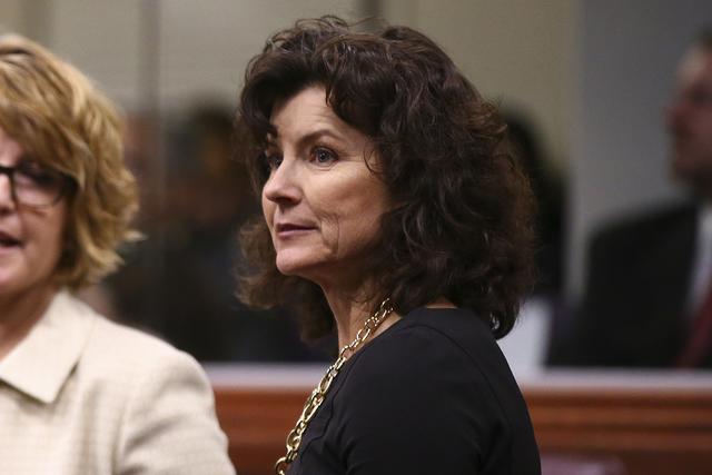 State Sen. Heidi Gansert, R-Reno. (Chase Stevens/Las Vegas Review-Journal) @csstevensphoto