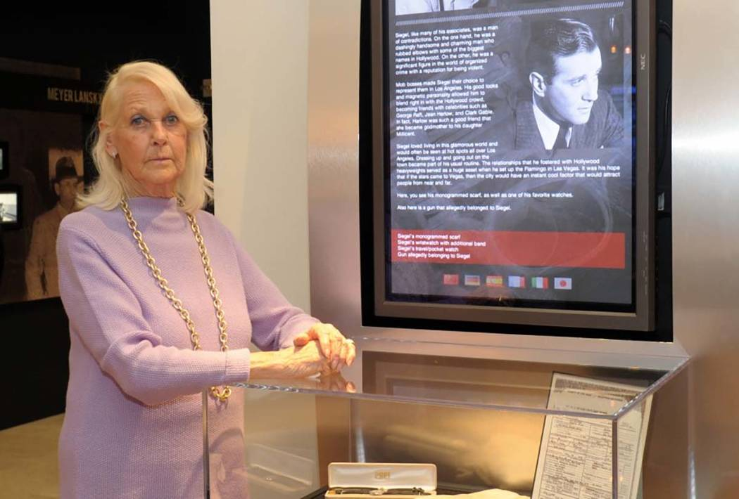 "Millicent Rosen, who passed away on Nov. 17 at age 86, was Benjamin ""Bugsy"" Siegel's eldest daughter. (Chabad.org)"