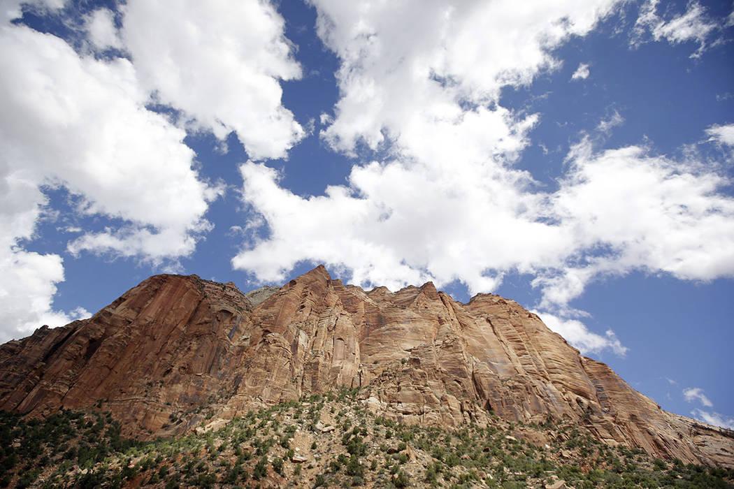 Zion National Park, near Springdale, Utah, is seen in 2015.  (AP Photo/Rick Bowmer)