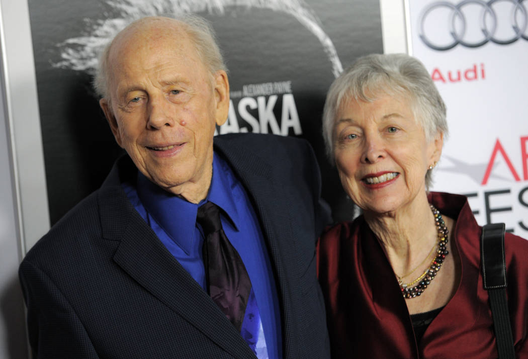 "Rance Howard, a cast member in ""Nebraska,"" and his wife Judy pose together at the 2013 AFI Fest premiere of the film at the TCL Chinese Theatre in Los Angeles, Nov. 11, 2013. Director Ron Howard s ..."