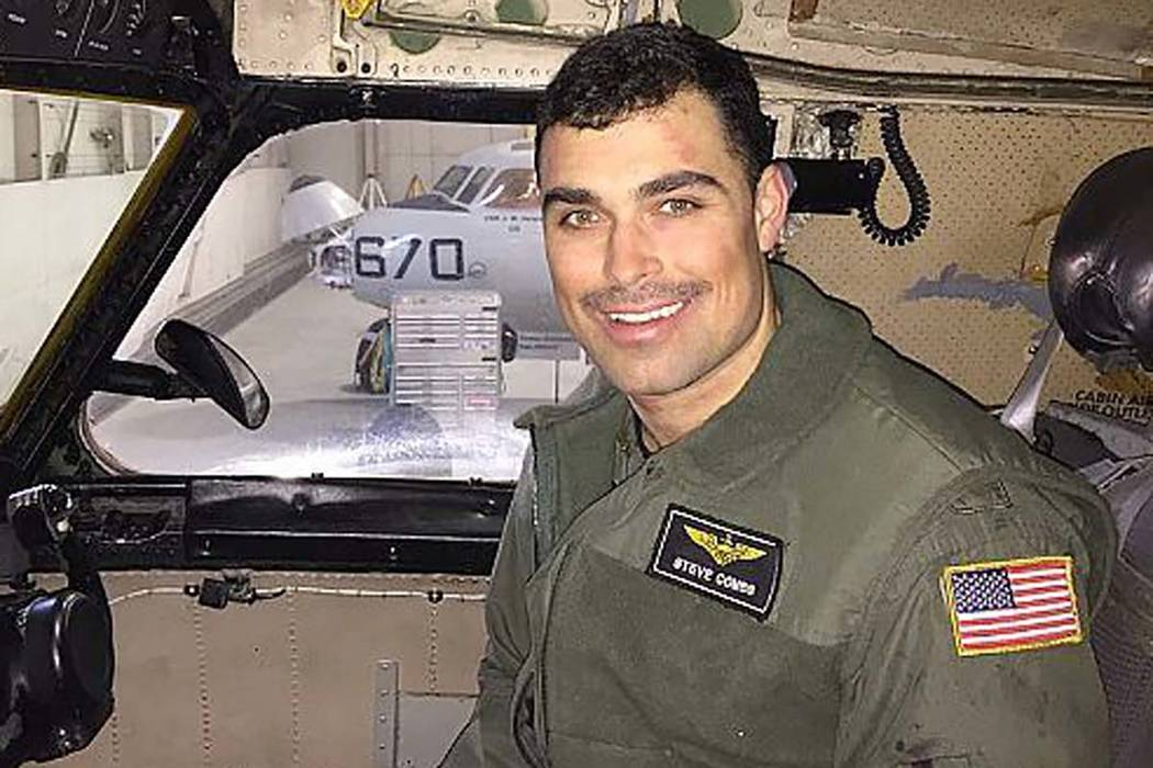 Lt. Steven Combs, assigned to the Providers of Fleet Logistics Support Squadron, is one of three sailors declared dead following an aircraft crash in the Philippine Sea on Wednesday, Nov. 22, 2017 ...