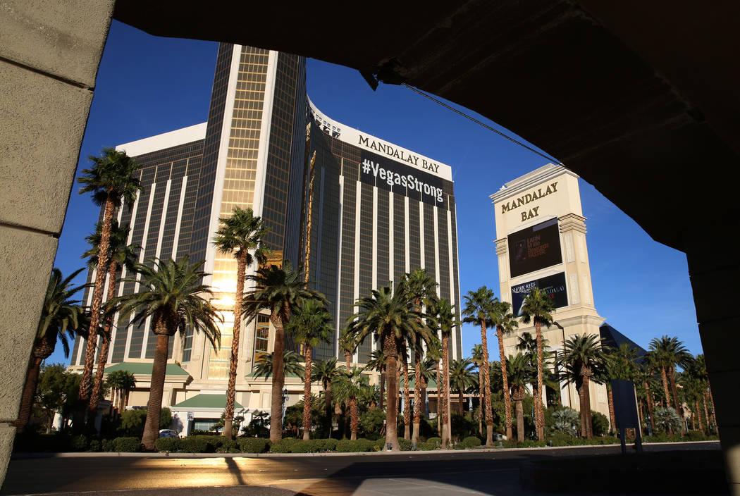 Mandalay Bay hotel-casino on Tuesday, Nov. 28, 2017, in Las Vegas. Bizuayehu Tesfaye Las Vegas Review-Journal @bizutesfaye