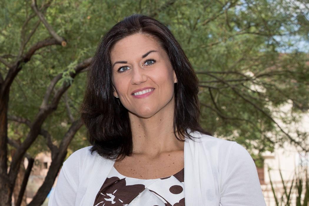 Samantha Bivins. Erik Verduzco Las Vegas Review-Journal @Erik_Verduzco