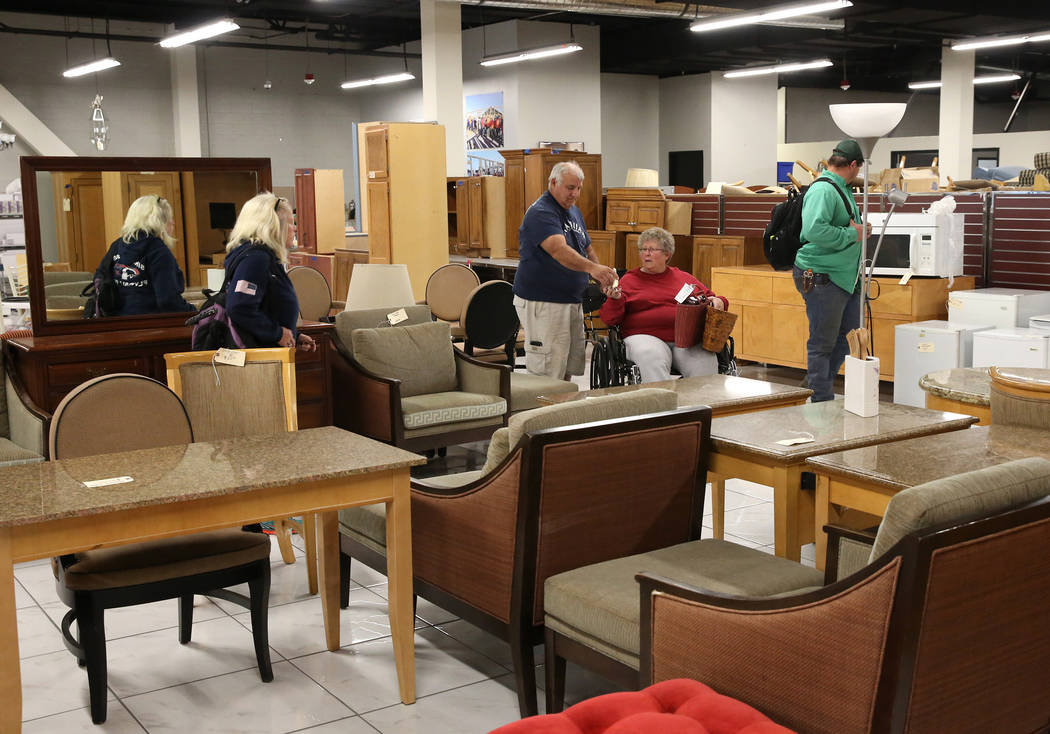 Customers Shop At The Habitat For Humanity ReStore At The Boulevard Mall,  3538 Maryland Parkway
