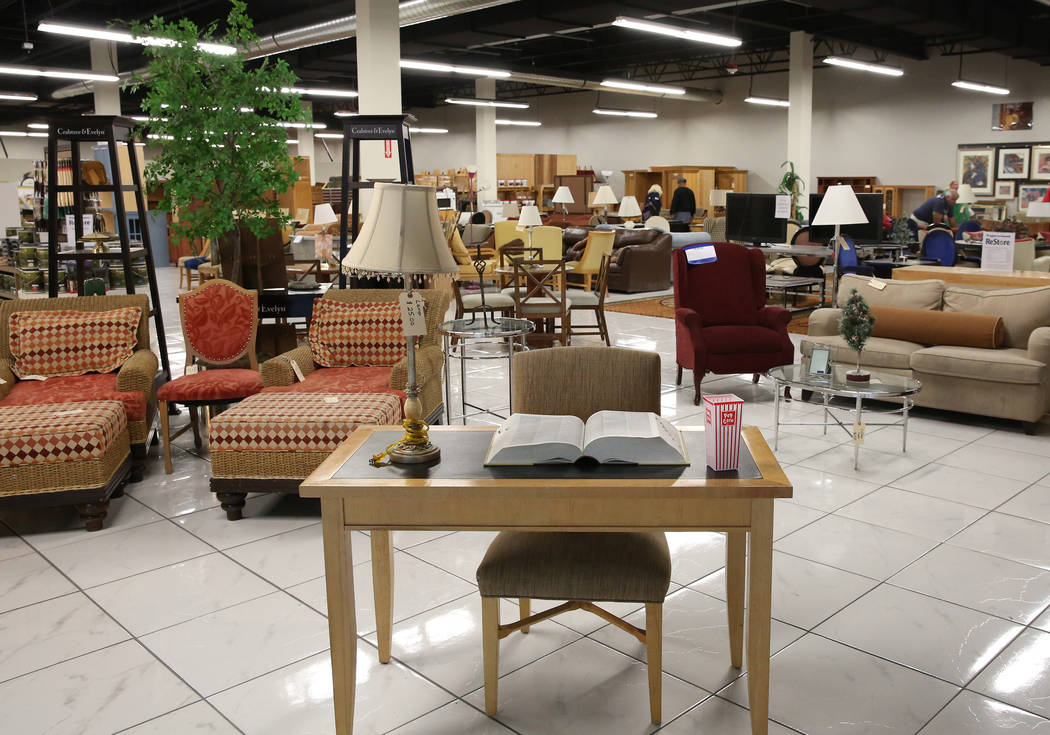 Merveilleux Used Furniture Inside The Habitat For Humanity ReStore At The Boulevard Mall,  3538 Maryland Parkway