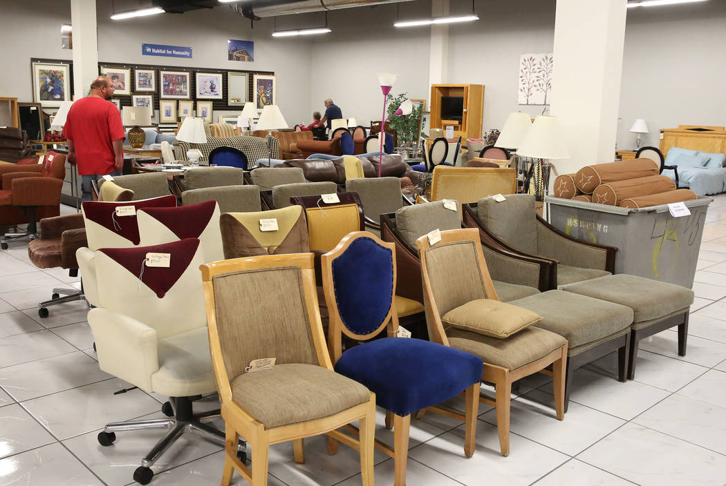 Used Furniture Inside The Habitat For Humanity ReStore At The Boulevard  Mall, 3538 Maryland Parkway
