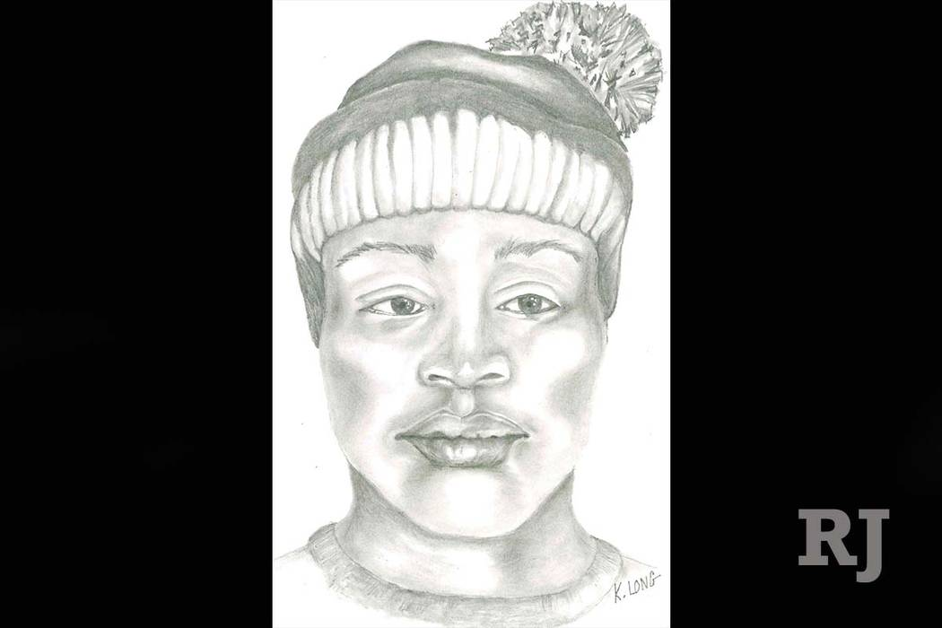 Las Vegas police have released the sketch of a man wanted in connection with the attempted sexual assault in Desert Breeze Park. (Las Vegas Metropolitan Police Department)