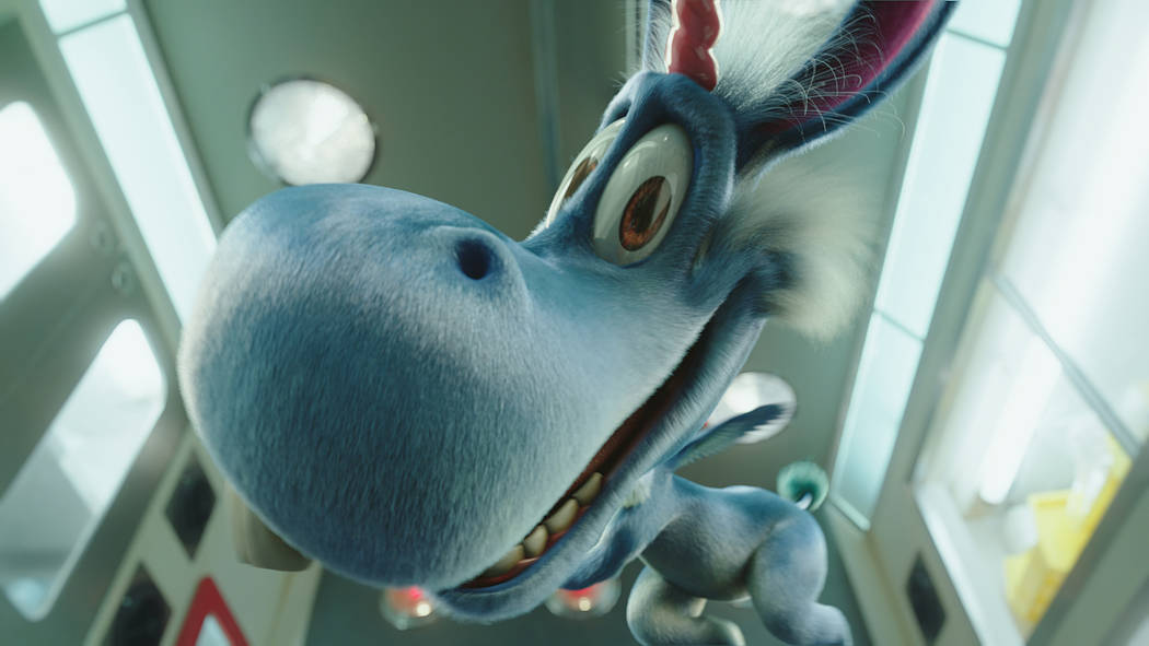 "Christopher Meloni stars as Nick Sax, and Patton Oswalt voices Happy in ""Happy!"" Syfy"