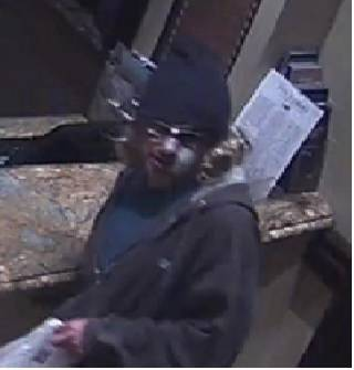 Las Vegas police have released a photo of the suspect in the Bellagio robbery. (Las Vega Metropolitan Police Department)
