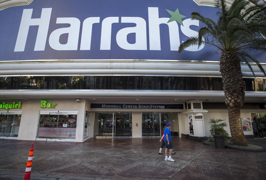 Harrah's at 3475 Las Vegas Boulevard South on Thursday, Aug. 17, 2017. Richard Brian Las Vegas Review-Journal @vegasphotograph