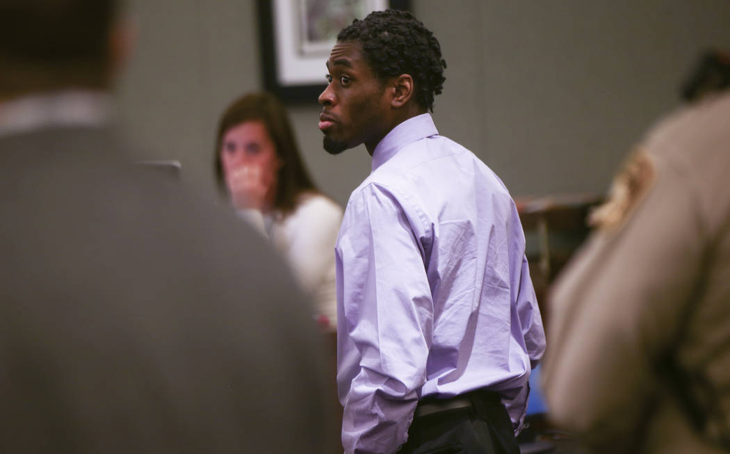 "Bryan Clay, who was found guilty of raping and killing Ignacia ""Yadira"" Martinez and her daughter, Karla, during the sentencing phase of his trial at the Regional Justice Center in Las Vegas o ..."