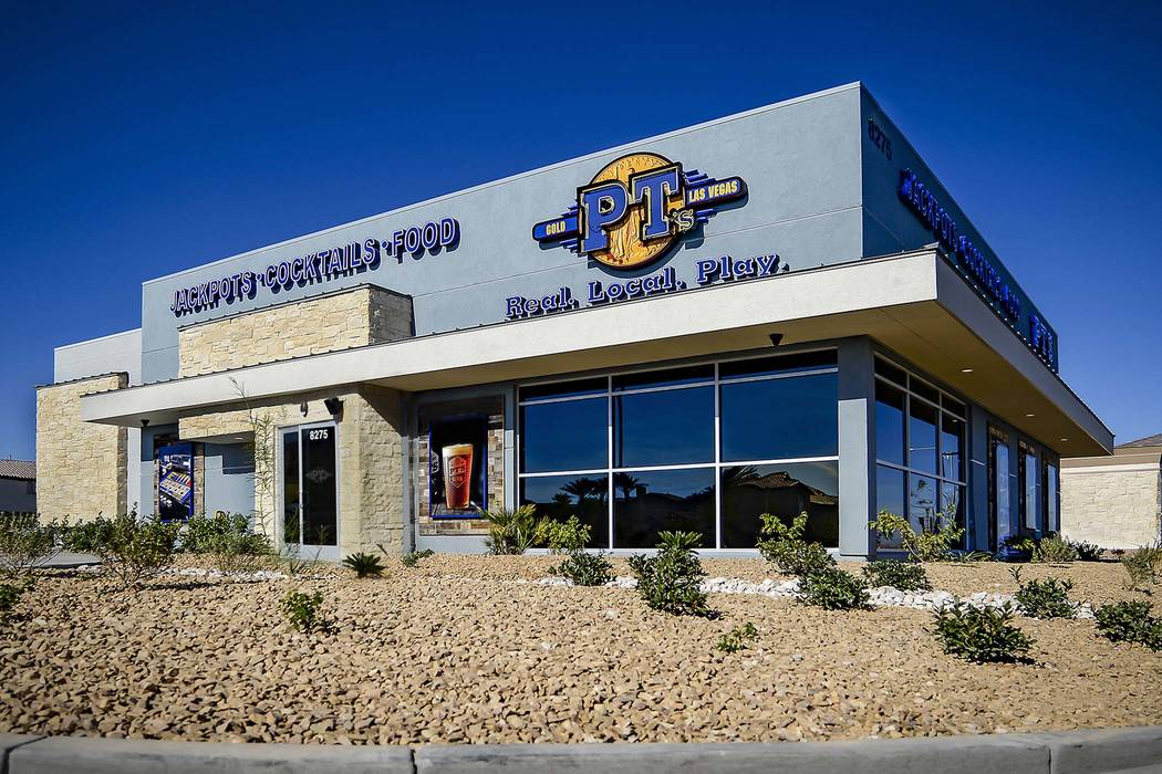 The new 5,390-square-foot PT's Gold is at 8275 Fort Apache Road across from the western entrance to Rhodes Ranch. (Golden Entertainment)