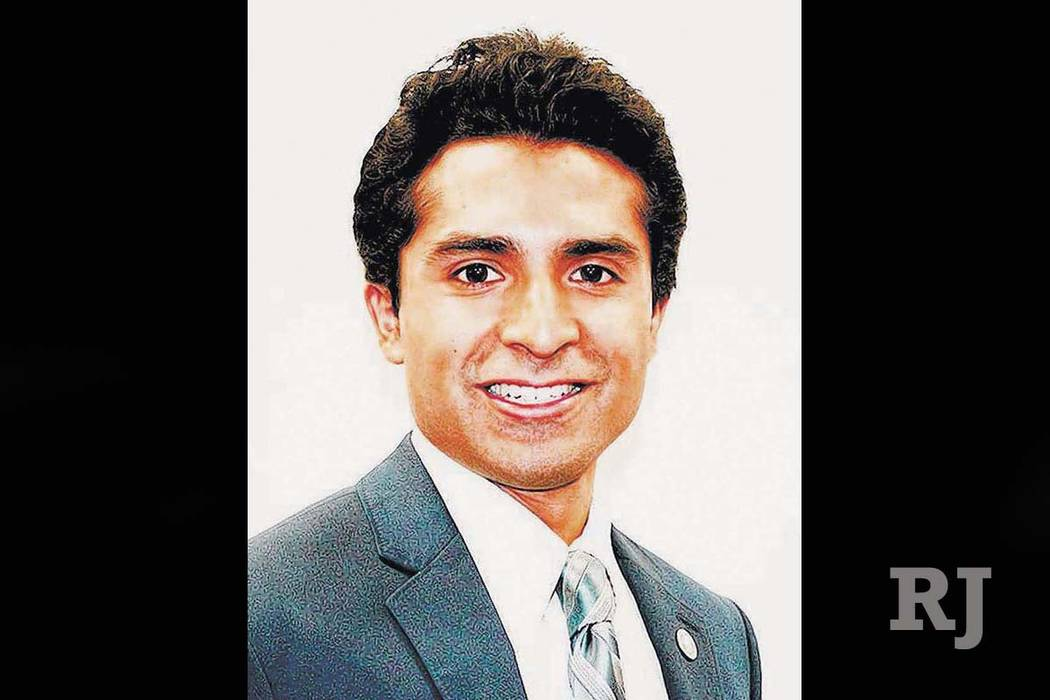 David Lopez plans to run for the Ward 3 Las Vegas City Council seat in 2019. (David Lopez)