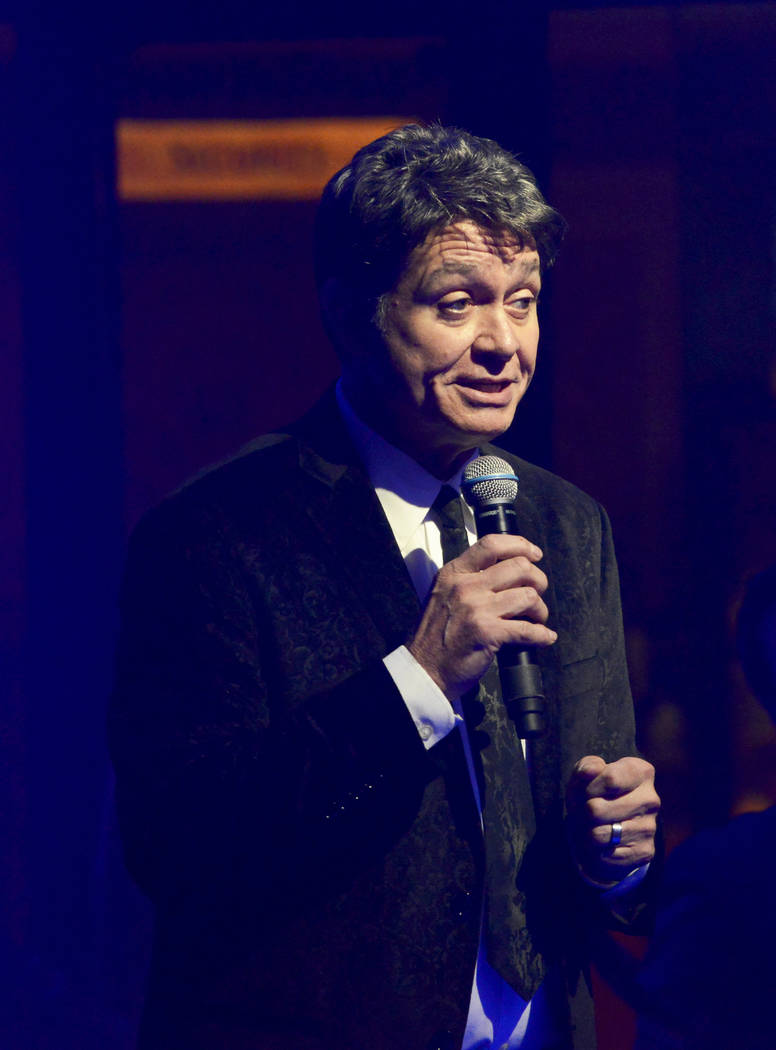 """Kieth Thompson, creator and producer along with Philip Fortenberry, presents opening night of the musical review """"The Cocktail Cabaret"""" at Cleopatra's Barge in Caesars Palace Hotel & Casin ..."""