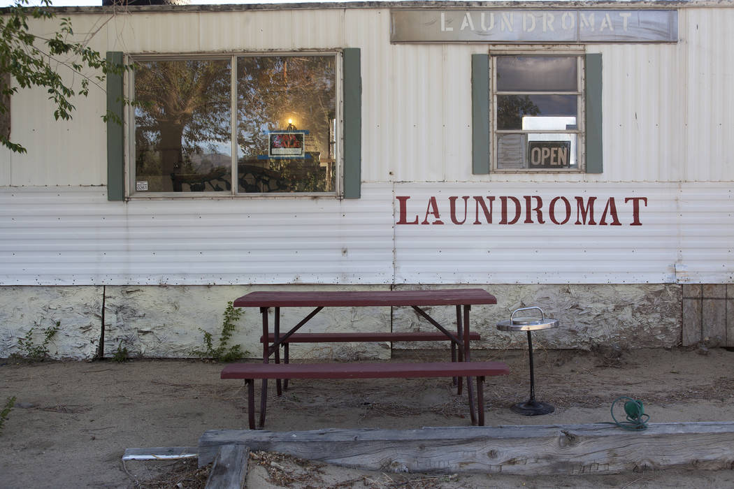 The local laundromat on Monday, June 5, 2017, in Dyer, a small town in Esmeralda county. The county is one of the least populous in the nation. Rachel Aston Las Vegas Review-Journal @rookie__rae