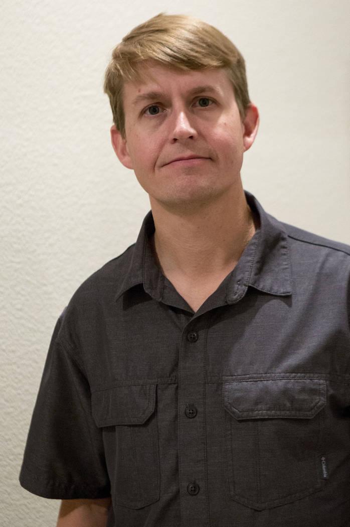 Shane Peterson at his home in Henderson on Nov. 15, 2017. Bridget Bennett Las Vegas Review-Journal @BridgetKBennett