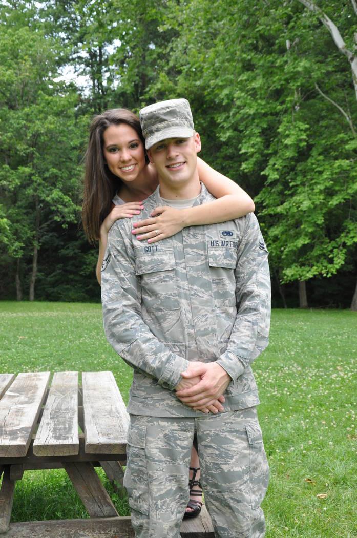A photo of Makenna and Kyle Gott. (Courtesy of Makenna Gott)