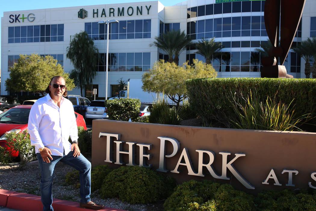 Investor Ofir Hagay outside his building at 8912 W. Spanish Ridge Ave. in Las Vegas, Thursday, Nov. 22, 2017. Bizuayehu Tesfaye Las Vegas Review-Journal @bizutesfaye