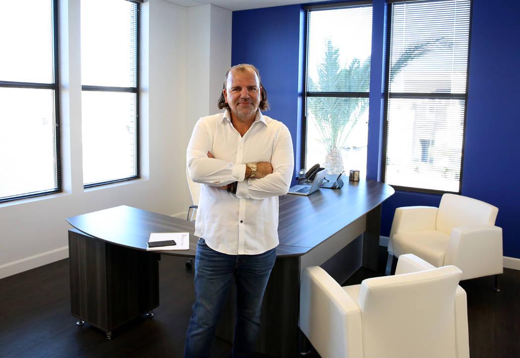 Investor Ofir Hagay at his 9275 W. Russell Road office in Las Vegas on Thursday, Nov. 22, 2017. Bizuayehu Tesfaye Las Vegas Review-Journal @bizutesfaye