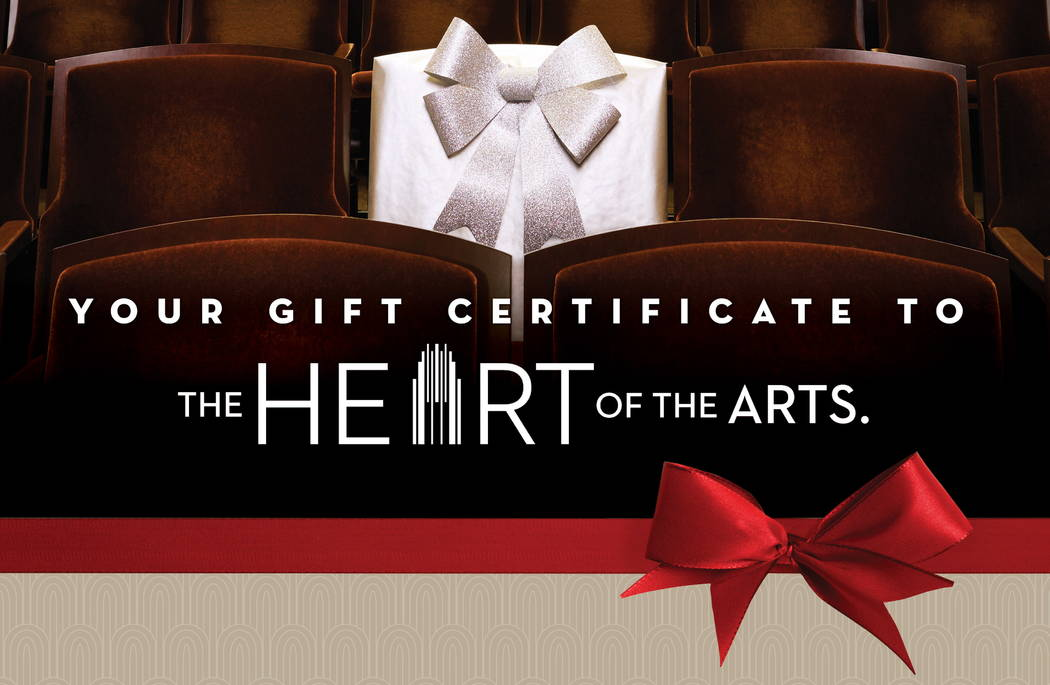 Smith Center gift certificate