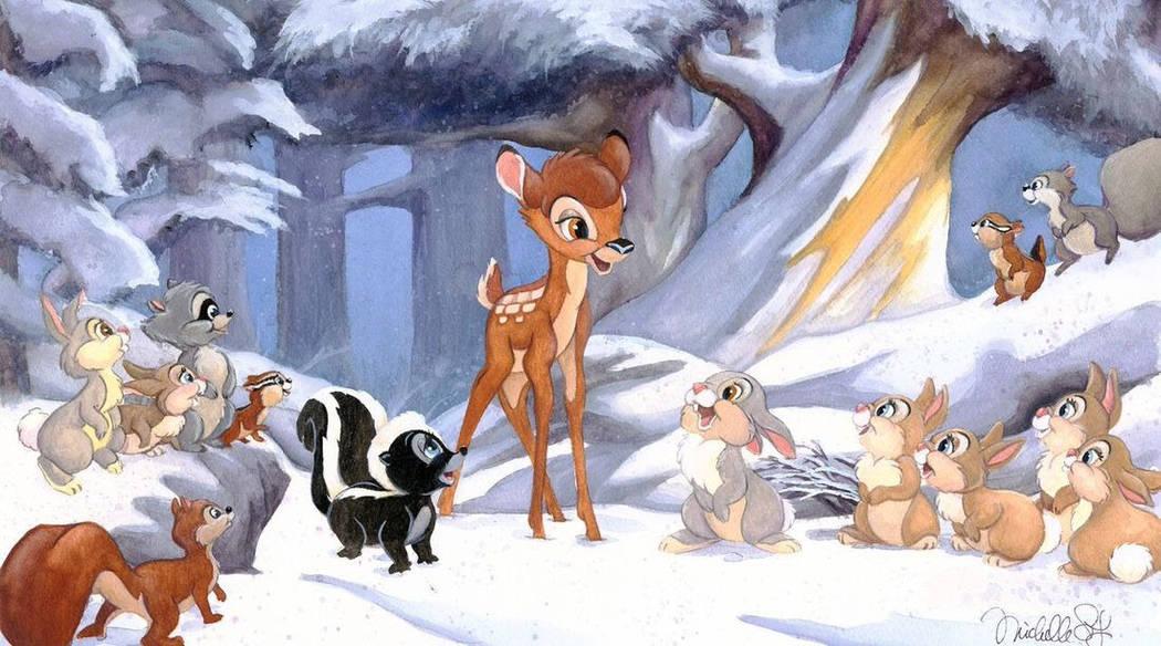 """Michelle St. Laurent """"Cold Winter Woods"""""""