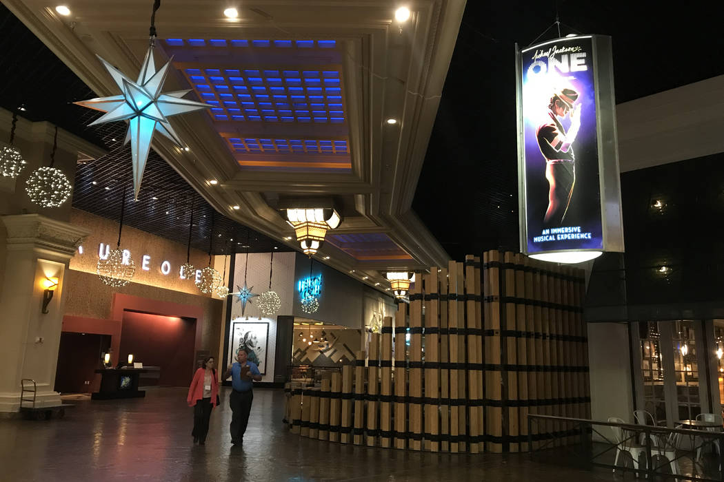 Visitors are present at Mandalay Bay hotel-casino in Las Vegas, Tuesday, Nov. 28, 2017. Bridget Bennett Las Vegas Review-Journal