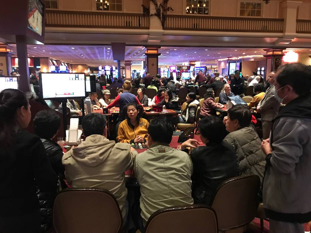 Casino action is seen Tuesday, Dec. 13, 2017, at the Gold Coast in Las Vegas. Todd Prince Las Vegas Review-Journal