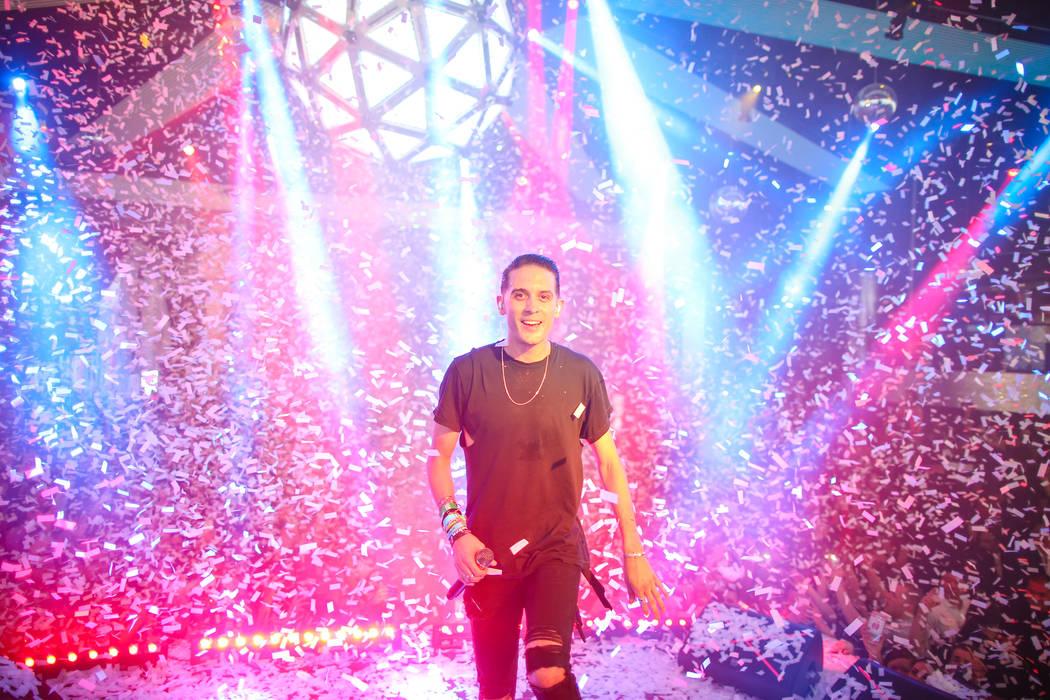 G-Eazy at Drai's Nightclub. Tony Tran Photography