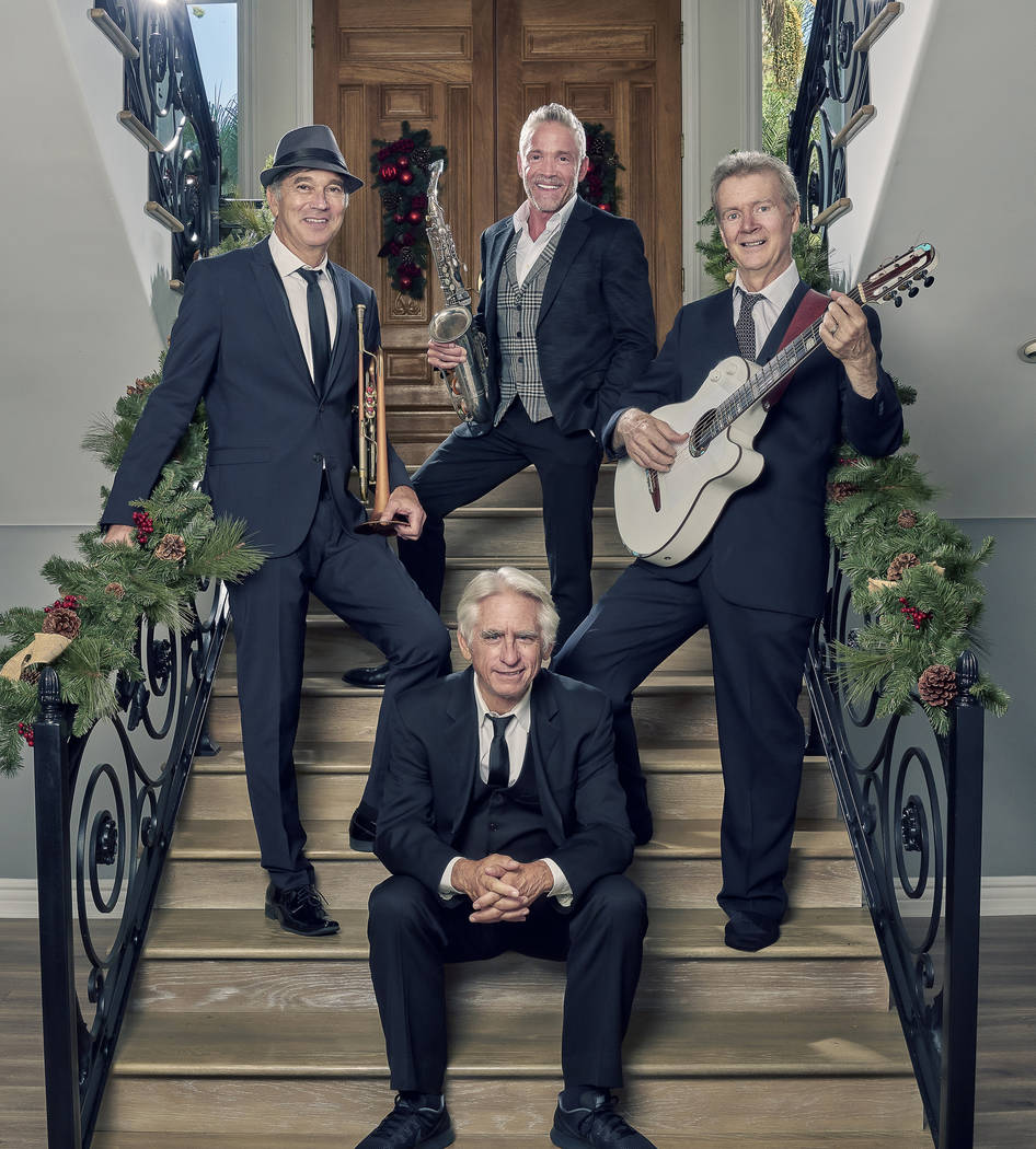 David Benoit, Peter White, Dave Koz and Rick Braun (Photo by Antonio Dixon)