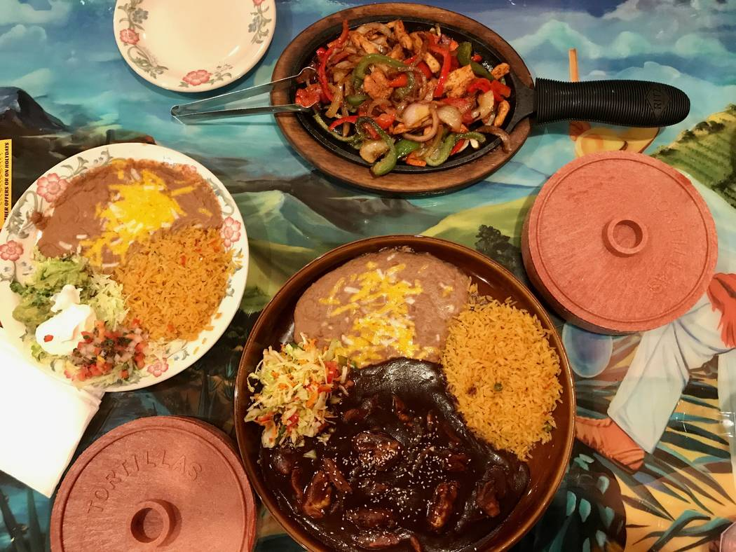 Fiesta Mexicana, a family chain of Mexican restaurants, opened its first Las Vegas location on Sout Rainbow Boulevard in May. (Madelyn Reese/View) @MadelynGReese