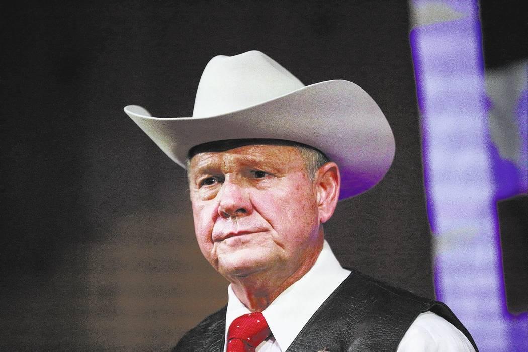 Roy Moore. (AP Photo/Brynn Anderson, File)