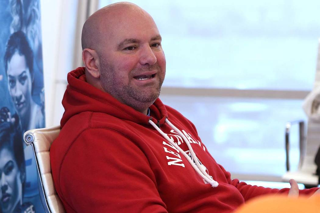 Dana White Holds Court At Ufc Headquarters Las Vegas Review Journal