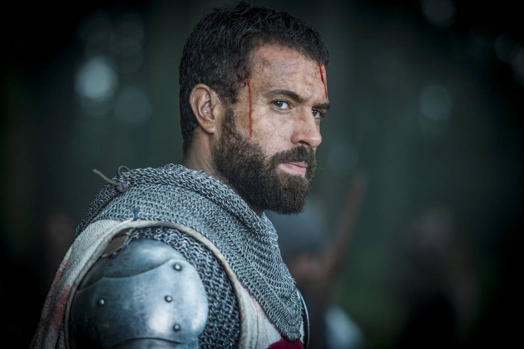 Templar Knight Landry (Tom Cullen) from HISTORY's New Drama Series Knightfall. Series premieres Dec. 6 at 10PM ET/PT. Photo by Larry Horricks/HISTORY Copyright 2017