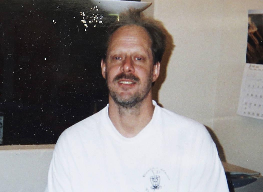 Undated photo of Las Vegas gunman Stephen Paddock.