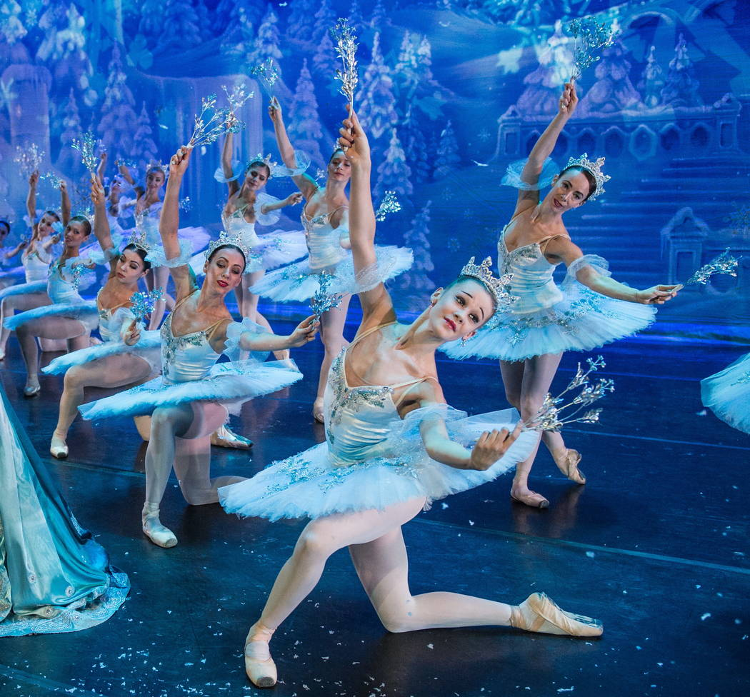 "Snowflakes, ""Great Russian Nutcracker"""